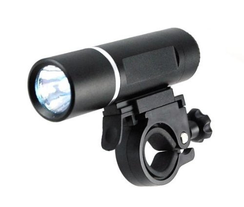 Super Bright 3-Watt LED Bike Headlight - See up to 3x Further!