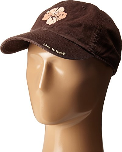 life-is-good-chill-hibiscus-flower-cap-one-size-deep-brown