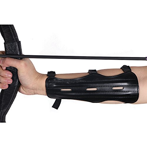 Huntingdoor-3-Strap-Archery-Target-Arm-Guard-Protector-Arm-Safe-Guard-for-Shooting-Practice