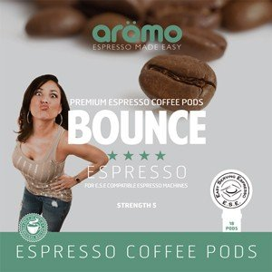 Get Aromo 'Bounce' ESE Coffee Pods 100 of 100% Arabica - Aromo
