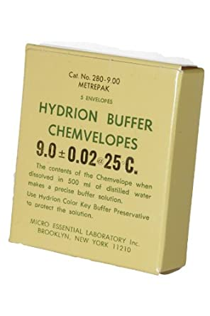 Micro Essential Lab Hydrion pH Buffer Powder (Case Of 5)