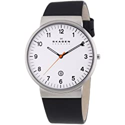Skagen SKW6024 Analogue Leather Mens Quartz Watch