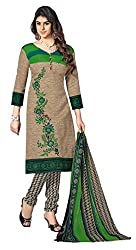 Nilkanth Enterprise Green Dress Material