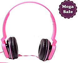 Mega Sale Hangout GRAND PRO Headset HO-72-Pink