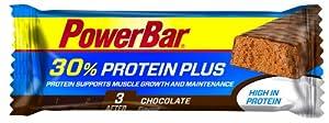 PowerBar Sporternährung Protein Plus, Riegel 55g Schokolade - 15 Stück by Powerbar