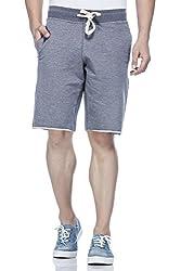 Tinted Men's Cotton Polyester Shorts TJ4201-NAVY-L