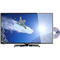 "MEDION LIFE P12223 (MD30853) 80 cm (31,5"" Zoll) Smart-TV (HD, HD-Triple-Tuner DVB-T DVB-C DVB-S2, DVD-Player, 100 Hz Real Motion Rate, WLAN, Medienportal, Mediathek, DLNA, HbbTV, Mediaplayer, USB, CI+, EEK A+) schwarz"