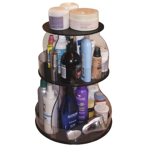 Makeup & Cosmetic Organizer That Spins for Easy Access to all your Beauty Essentials, NO More Clutter!Save Space on Bathroom Counter.
