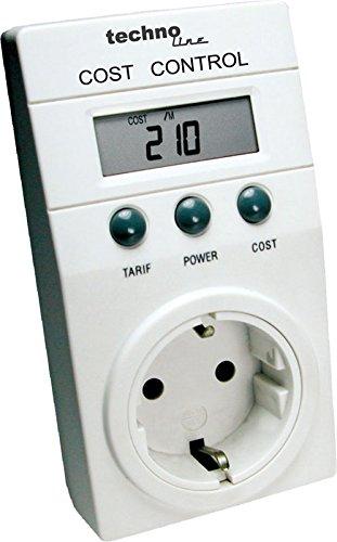 Technoline Cost Control - Medidor del Consumo Energético, Color Blanco, Importado de...