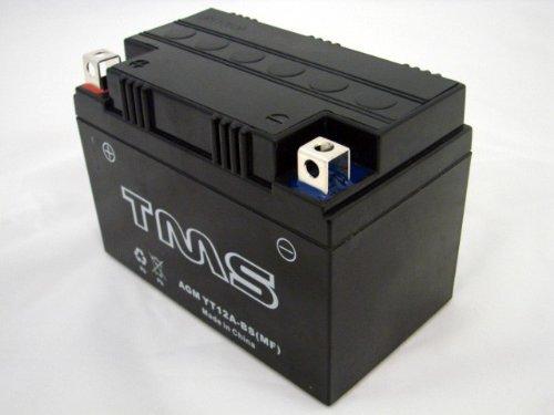 AGM Yt12a-bs 12V Battery for Suzuki Gsf1250s Bandit Sv650 Gsxr 750 1000 Gsx1300r Hayabusa Sfv650 Gladius Sv650 TL1000r