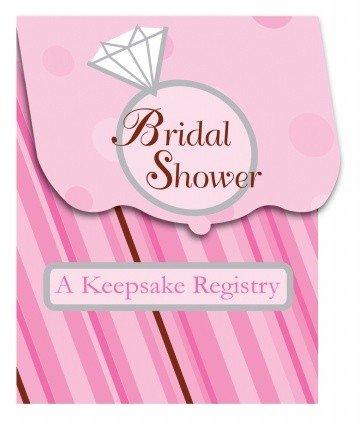 Bride To Be Dots Keepsake Registry front-874935
