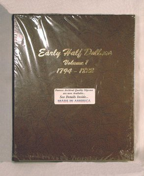Dansco Early Half Dollars 2-Volume Set Album #6151