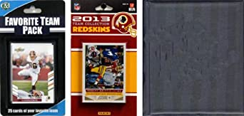 NFL Washington Redskins Licensed 2013 Score Team Set and Favorite Player Trading Card... by C&I Collectables