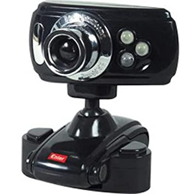 Enter E-20MP LED USB Night Vision Mic Desktop PC Laptop Webcam Skype Cam Camera