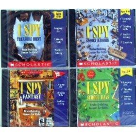I SPY 4 CD PACK