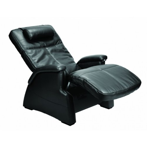 The Human Touch Electric Zero Gravity Perfect Chair Recliner - Pc-085 Black Bonded Leather Pads