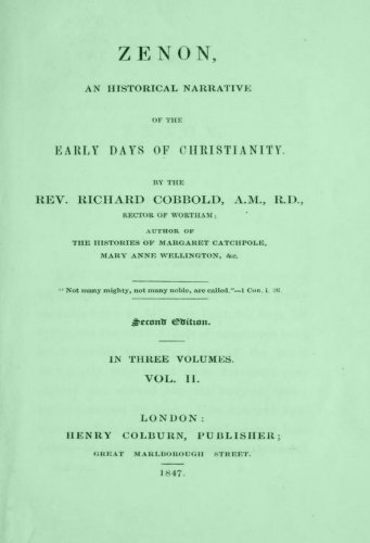 zenon-an-historical-narrative-of-the-early-days-of-christianity-v2-english-edition