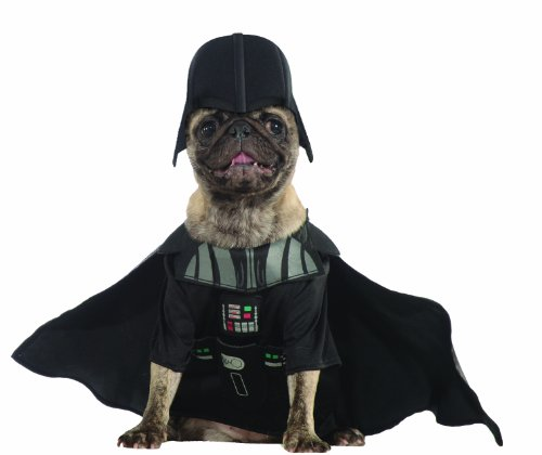 Rubies Costume Star Wars Collection Pet Costume, Large, Darth Vader