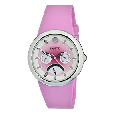 Philip Stein Women's F43S-SD-P Quartz Pink Dial Stainless Steel Watch