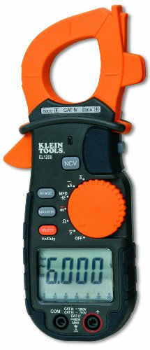 Klein Tools Cl1200 600A Ac Clamp Meter