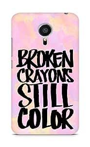 AMEZ broken crayons still colour Back Cover For Meizu MX5