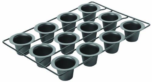 Chicago Metallic 26121 Non-Stick 12- Cup Mini Popover Pan