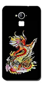 SEI HEI KI Designer Back Cover For CoolPad Dazen Note 3 - Multicolor