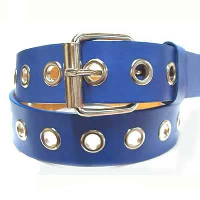 BRIGHT BLUE 1ROW HOLE GROMMET LEATHER CARGO BELT XLARGE - Buy BRIGHT BLUE 1ROW HOLE GROMMET LEATHER CARGO BELT XLARGE - Purchase BRIGHT BLUE 1ROW HOLE GROMMET LEATHER CARGO BELT XLARGE (Luxury Divas, Luxury Divas Belts, Luxury Divas Womens Belts, Apparel, Departments, Accessories, Women's Accessories, Belts, Womens Belts)