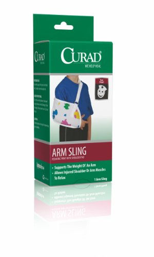 Curad Pediatric Arm Slings,Pediatric Print,Toddler, Qty 2 front-640750