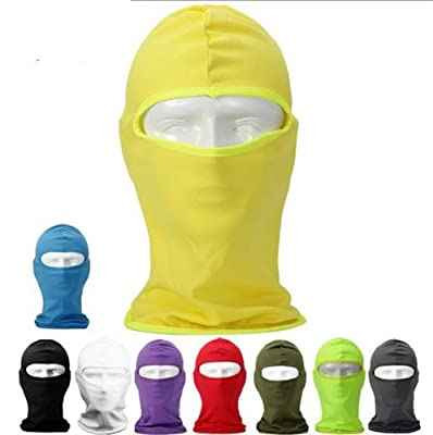 Candy Color Ultra Thin Ski Face Mask Under A Bike / Football Helmet -Balaclava