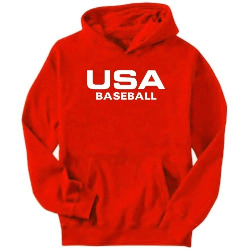 Usa Baseball / Athletic America Mens Hoodie