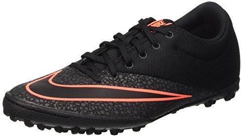 Nike Mercurialx Pro Tf Scarpe da calcetto, Uomo, Multicolore (Black/Black-Anthrct-Brght Mng), 44 1/2