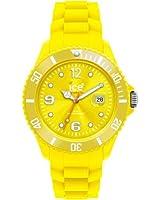 ICE-Watch - Montre Mixte - Quartz Analogique - Ice-Forever - Yellow - Unisex - Cadran Jaune - Bracelet Silicone Jaune - SI.YW.U.S.09