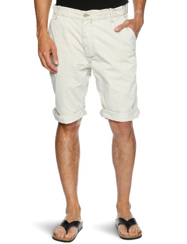 G-Star Men's Cl New Bronson Chino Tapered 1/2 Short, Dark Concrete, 30