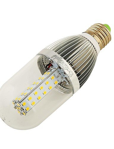 FW YouOKLight E26/E27 10 W 54 SMD 2835 850 LM Warm White / Natural White T Decorative Corn Bulbs DC 12 V , natural white (12v Dc Incandescent Lightbulbs compare prices)