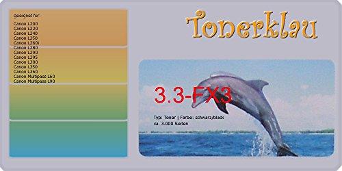 kompatibel Toner 3.3-FX3 für: Canon L240 als Ersatz für Canon FX-3