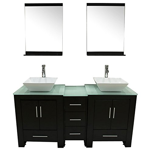 Walcut-Luxury-60-Modern-Double-Ceramic-Sink-Solid-Wood-Bathroom-Vanity-Cabinet-With-Mirror-And-Tempered-Glass-Table-Board