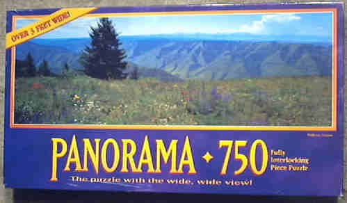 Panorama 750 Jigsaw Puzzle - Wallowa, Oregon