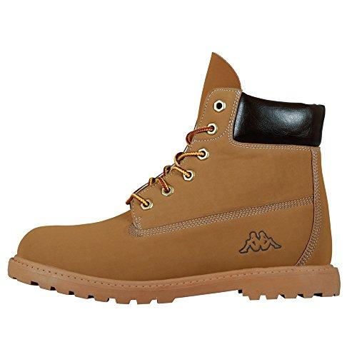 Kappa - Kombo Mid Footwear Unisex, Alte Scarpe Da Ginnastica, unisex, beige (4150 beige/brown), 42