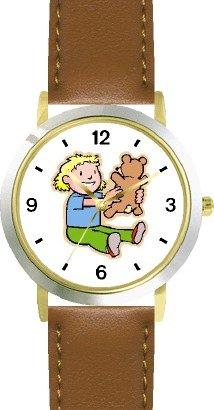 Teddy Bear  Blond Child - Bear Animal - WATCHBUDDY®