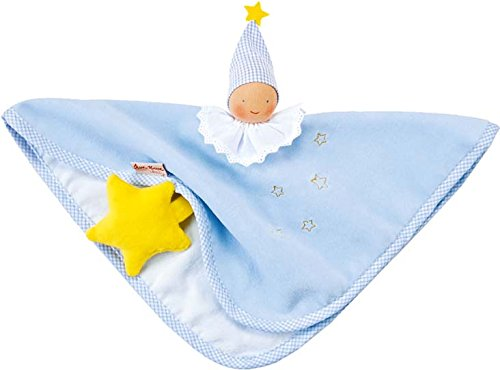 Kathe Kruse Organic Towel Doll, Light Blue - 1