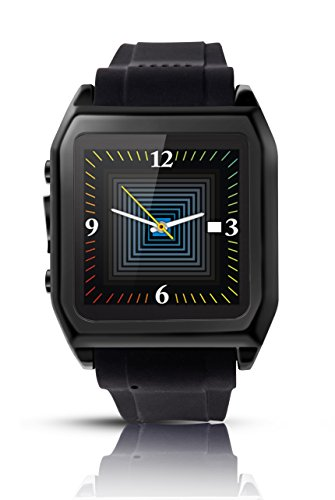 Scinex® SW30 16GB Bluetooth Smart Watch GSM Phone - US Warranty (Black)