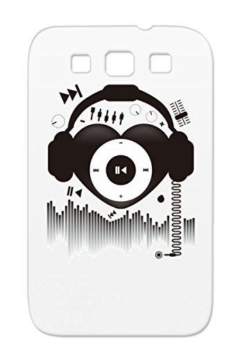 Skid-Proof Red Music Music Pop Heart Beat Headphones Interface Design Miscellaneous Cute Icon Sound Tpu For Sumsang Galaxy S3 Heart Protective Case