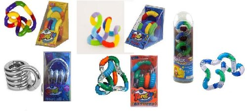 Set de 5 Tangle Jr Fidget Jouets: Original
