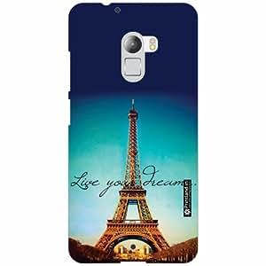 Lenovo K4 Note Back Cover - Silicon Love Paris Designer Cases