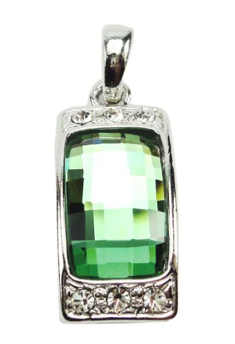 Pendant Sterling Silver.925 prominent!! neon green Modern Style!!in Thailand