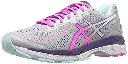 asics-womens-gel-kayano-23-running-shoe-silver-pink-glow-parachute-purple-95-m-us
