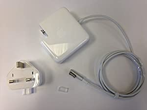 Genuine New Apple 60W MagSafe MacBook AC Adapter Charger Original Part ref A1344 A1184 L Tip with UK Mains Plug