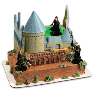 Harry Potter Castle Cake Decorating Kit: Amazon.ca: Toys ...