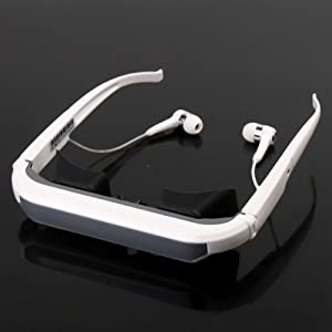 72-Inch Virtual Digital Video Glasses Eyewear Iwear for Ipod Iphone Ipad Multimidea Player
